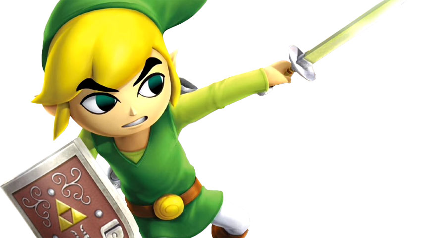 Here S Toon Link In Action In Hyrule Warriors Legends Vg247