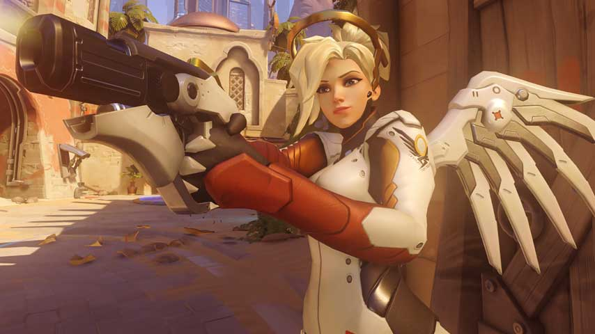 Overwatch hero guide mercy vg247 for Hardcore tattoo porn
