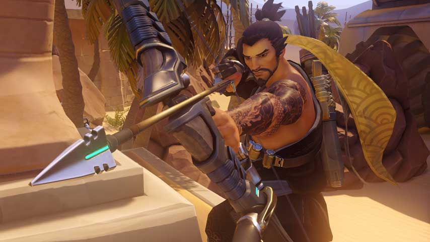 Hanzo Projectile Speed