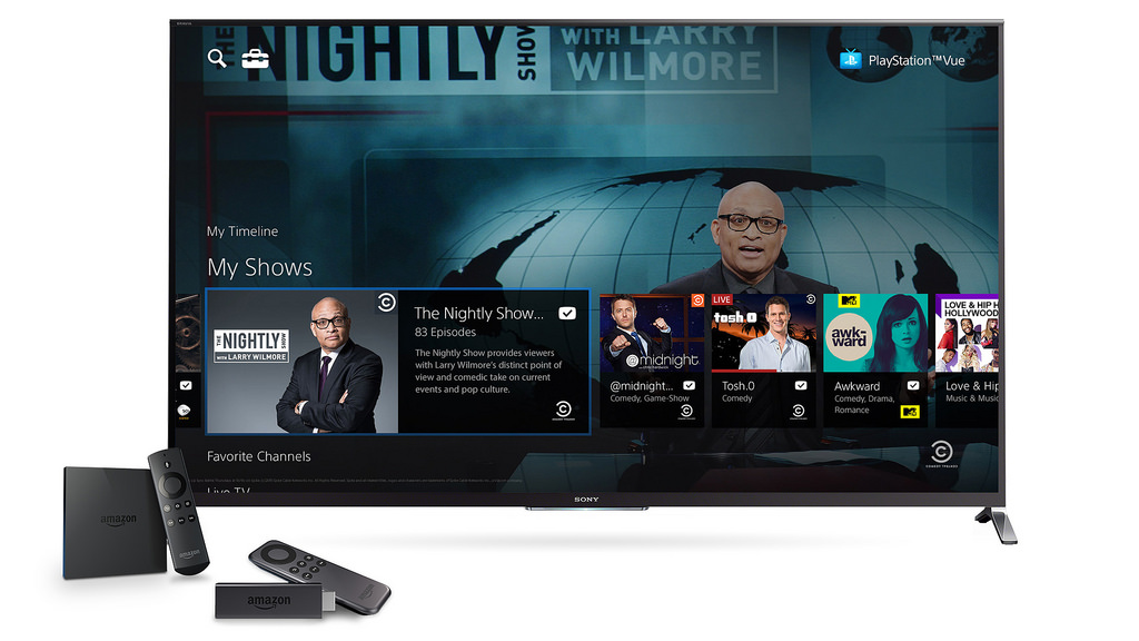Playstation Vue Gets Price Cut Free Amazon Fire Tv Stick