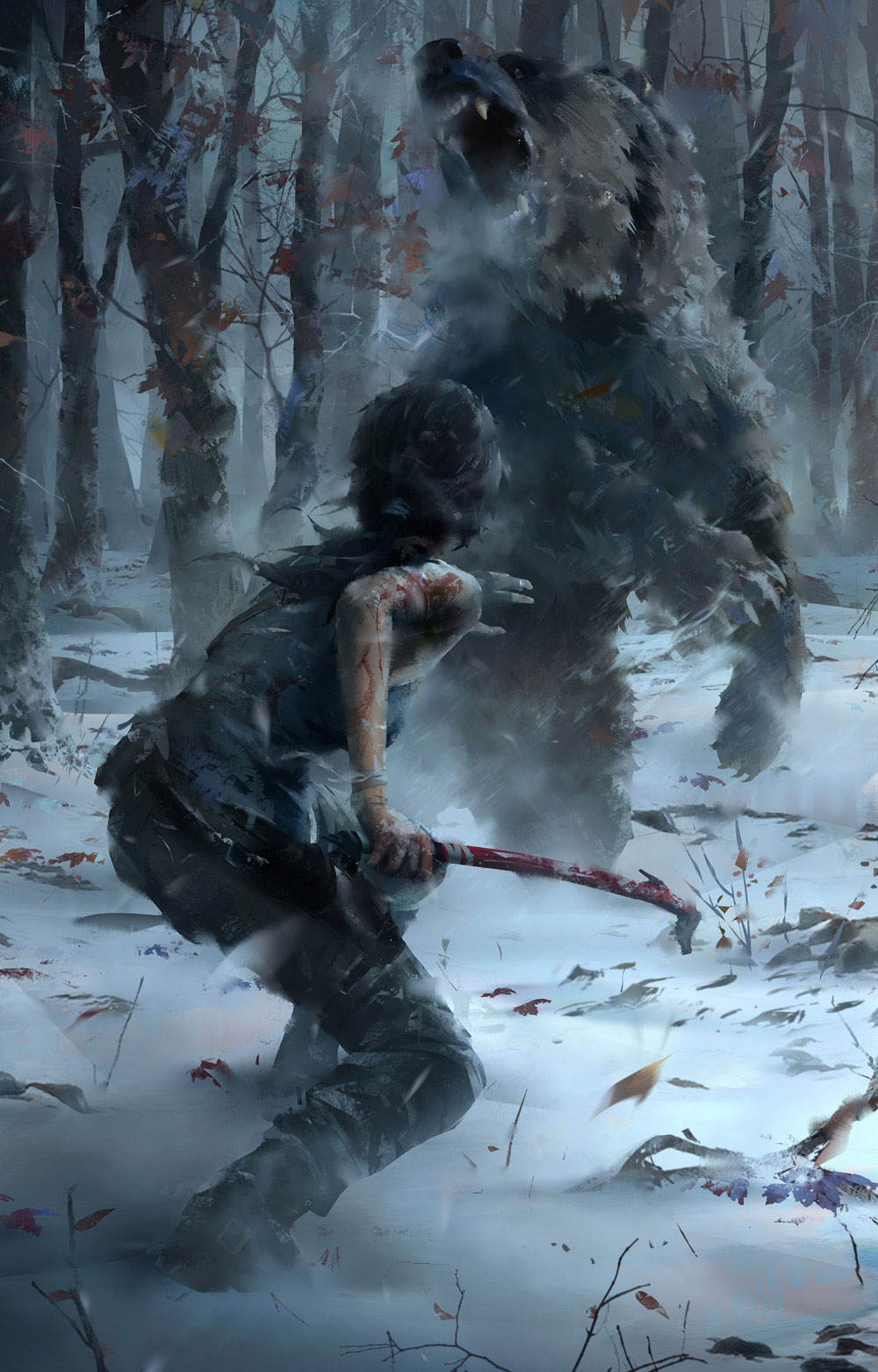Rise Of The Tomb Raider Tauchsprung