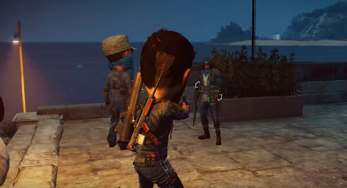 Use The Balloon Weapon In Just Cause 3 To Make Npc S Heads