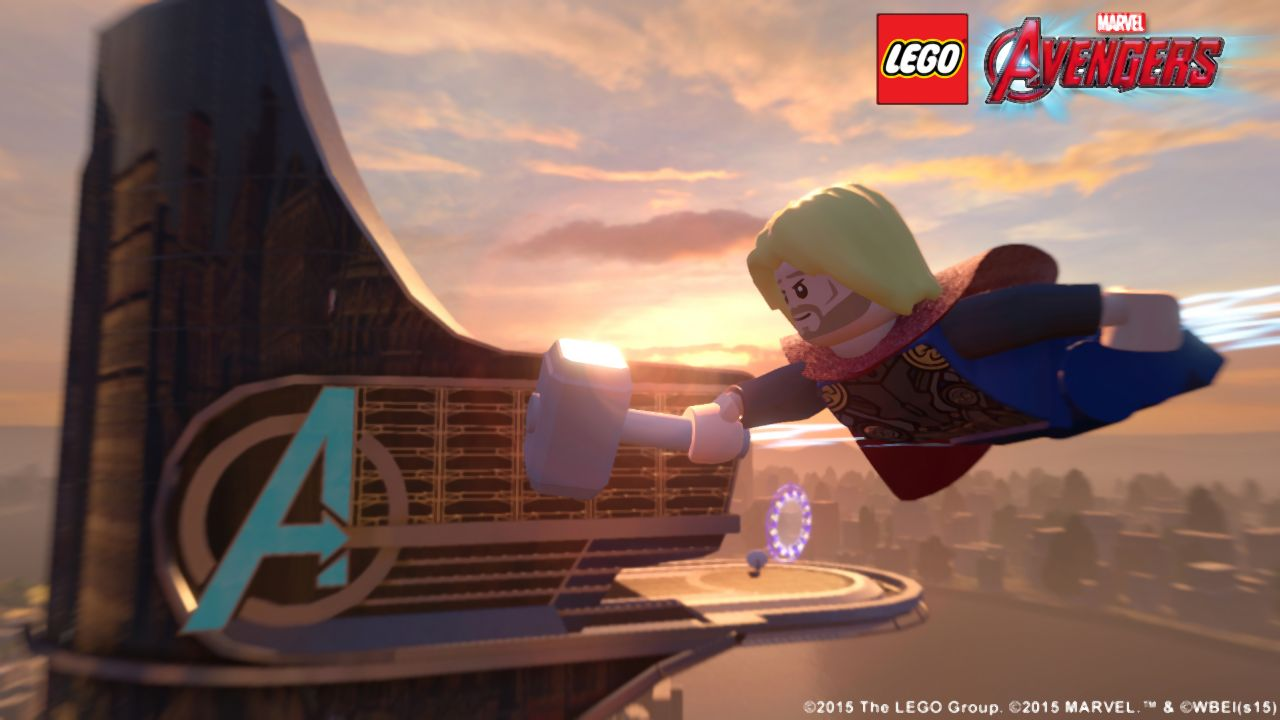 lego marvel s avengers open world video shows new york city other free roam locations vg247. Black Bedroom Furniture Sets. Home Design Ideas