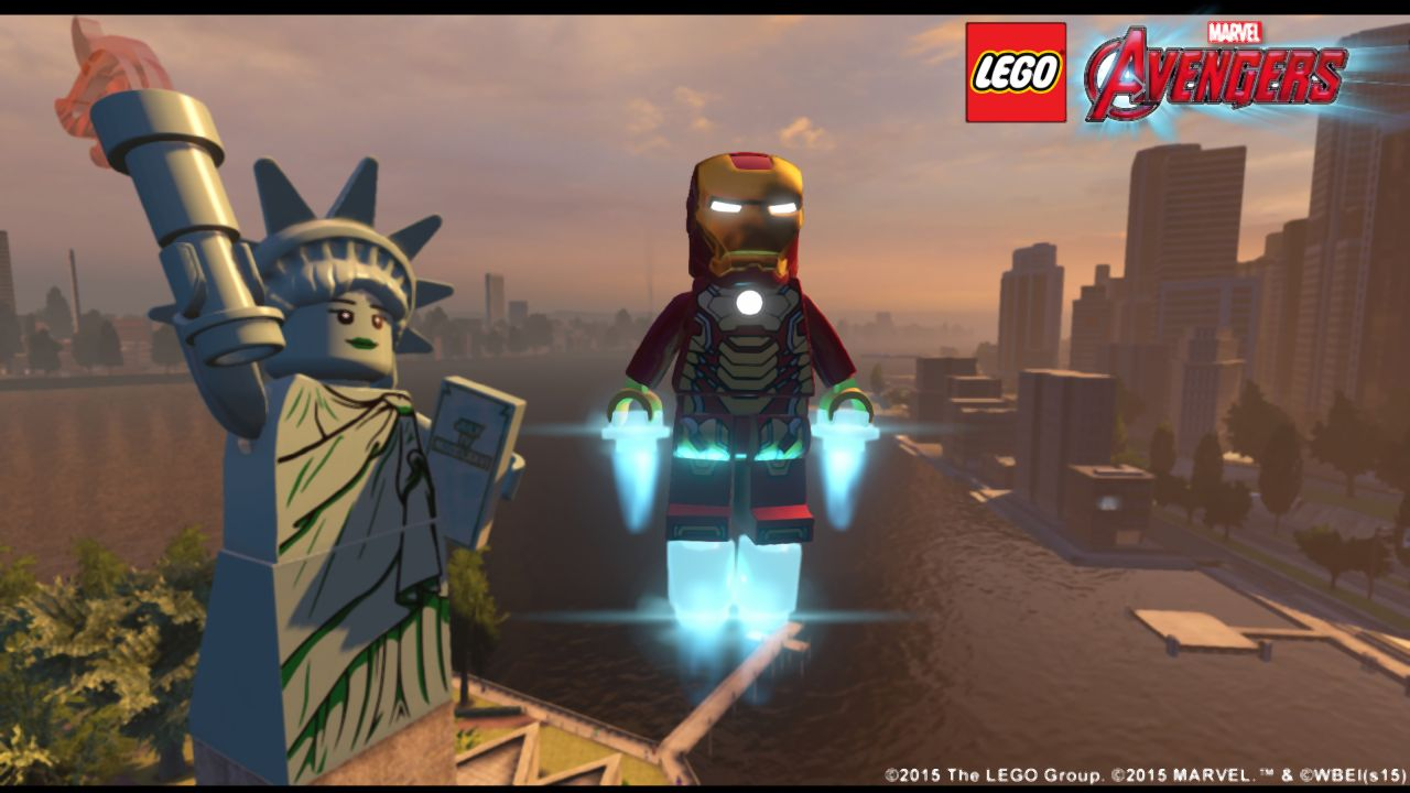 lego marvel u2019s avengers open-world video shows new york city   other free roam locations