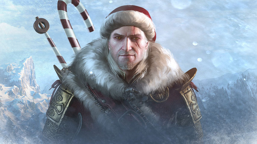 Pubg Christmas Wallpaper: Make A Witcher 3 Holiday Outfit Mod, Win A Real-life Sword