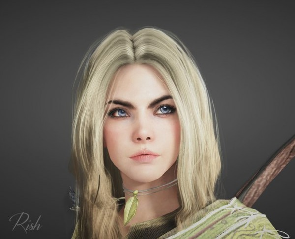 Black Desert Online's character creator is already producing amazing ...