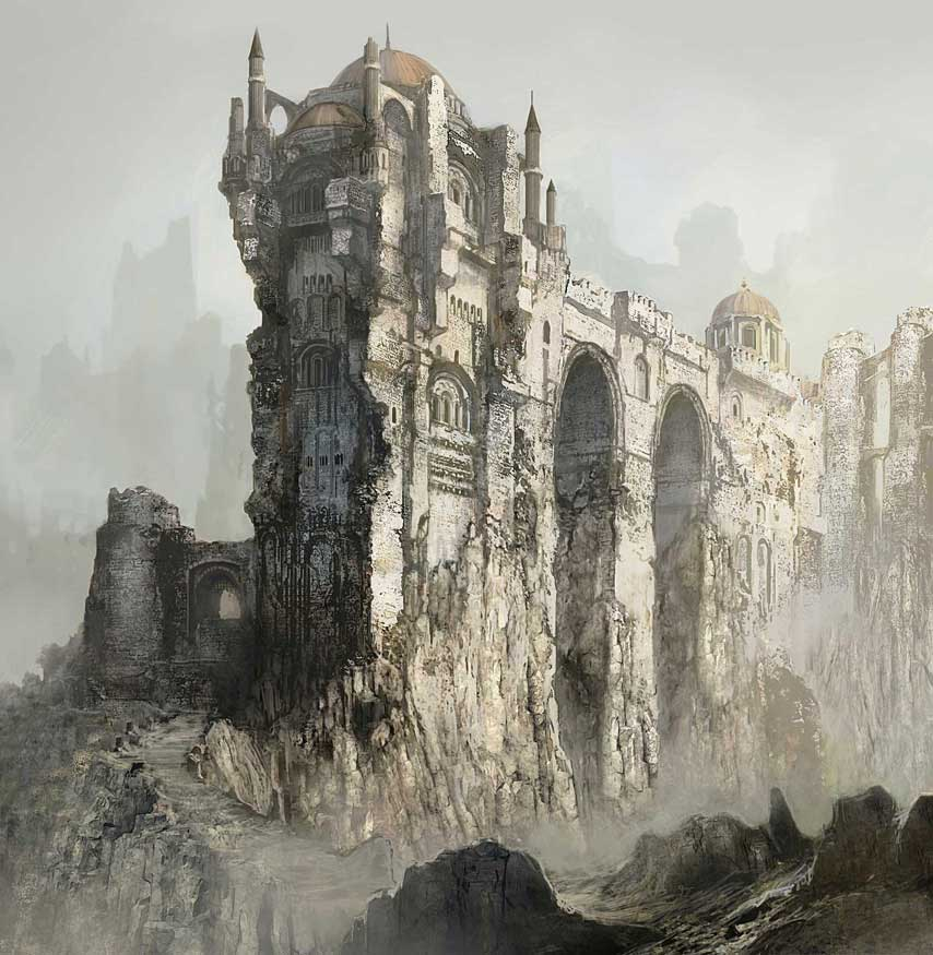 Gorgeous new dark souls 3 screens depict a grim and for Yharnam architecture