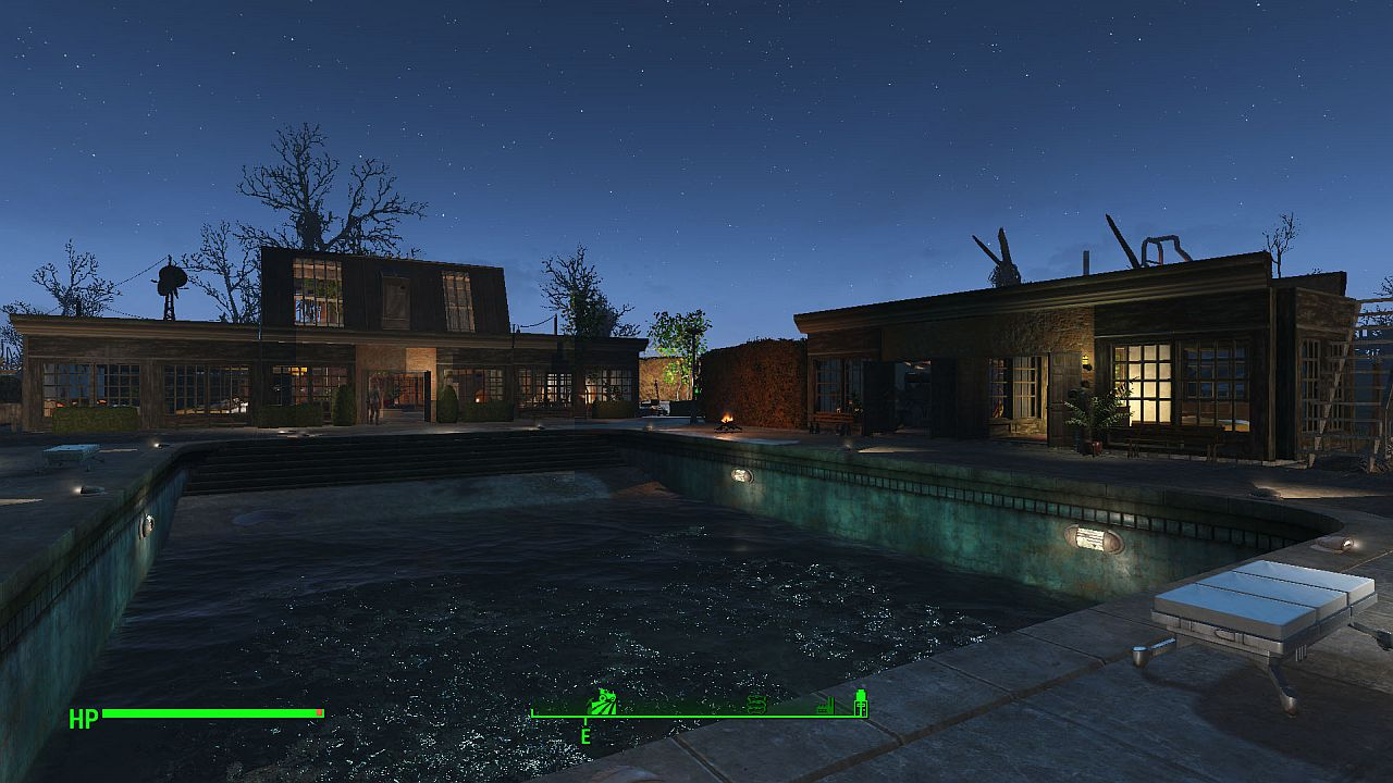 Fallout 4 Player Turns The Slog Into The Poshest Settlement We Ve Seen Yet Vg247