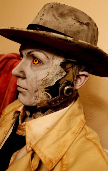 fallout  nick valentine cosplay