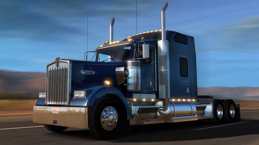 american truck simulator update adds new truck explains. Black Bedroom Furniture Sets. Home Design Ideas