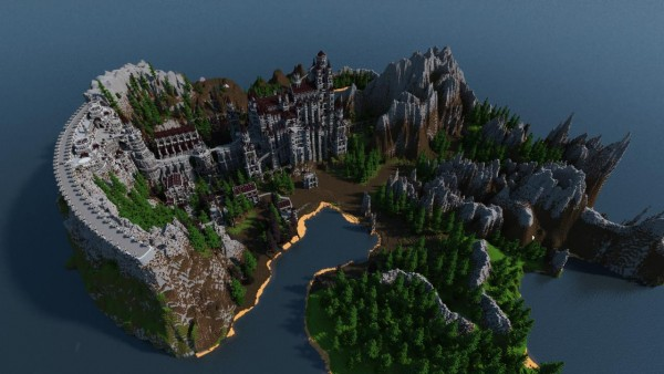 Dark Souls Anor Londo Remade In Minecraft By One Dude Vg247