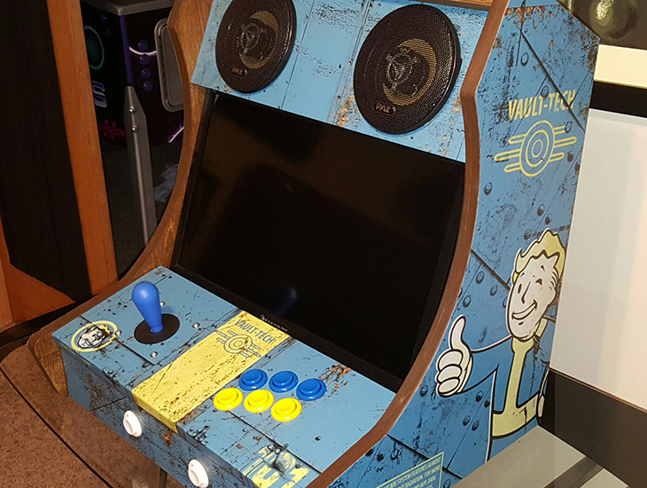 Fan Made Fallout Arcade Cabinet Is Vault Boy Approved Vg247