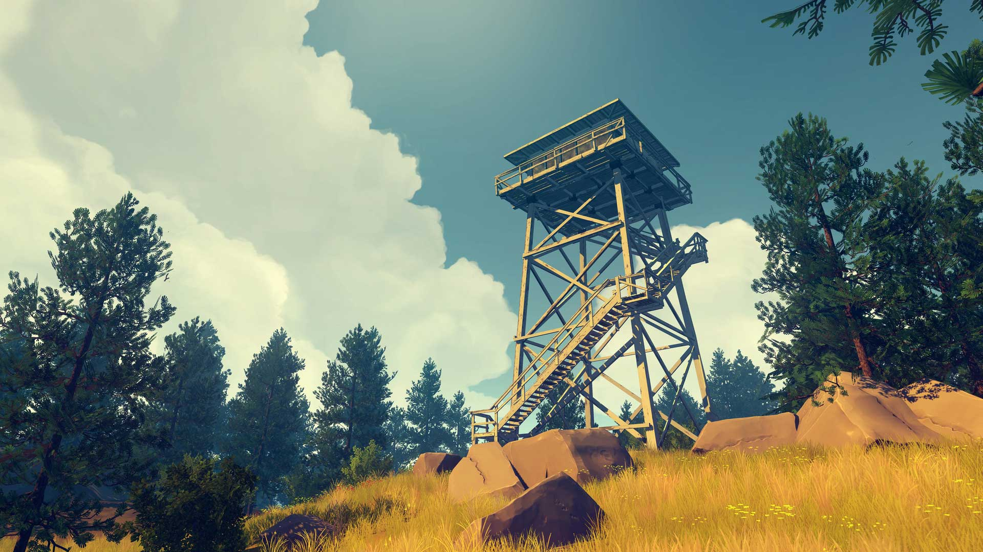 Indie Hit Firewatch Is Coming To Xbox One This Month