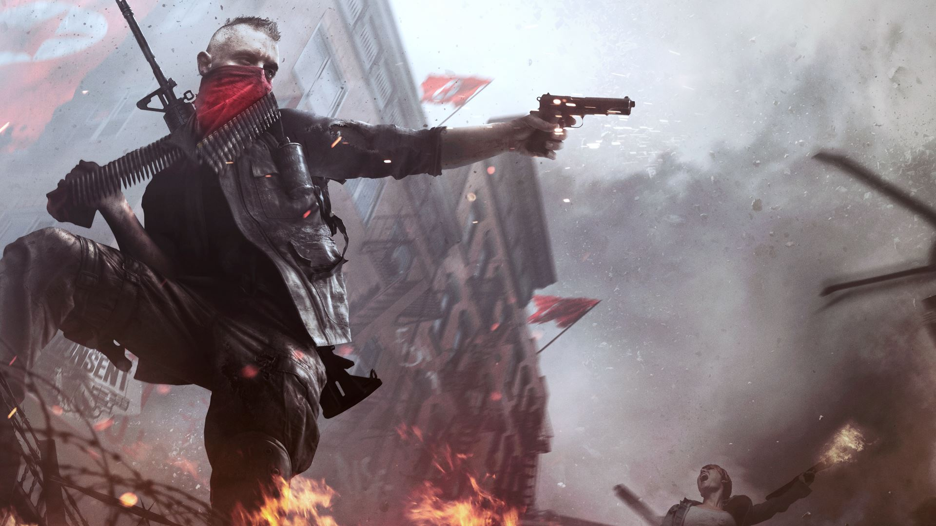Homefront: The Revolution video chronicles the rise of the sinister APEX corp...