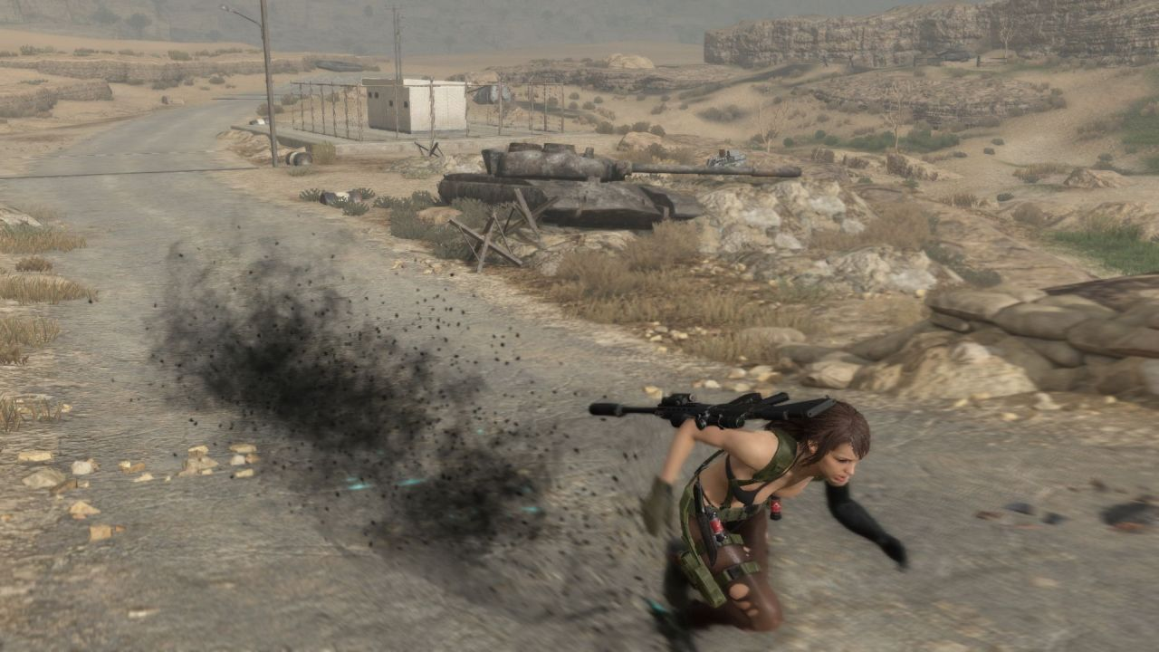 Quiet's bringing her special skillset to Metal Gear Online ...