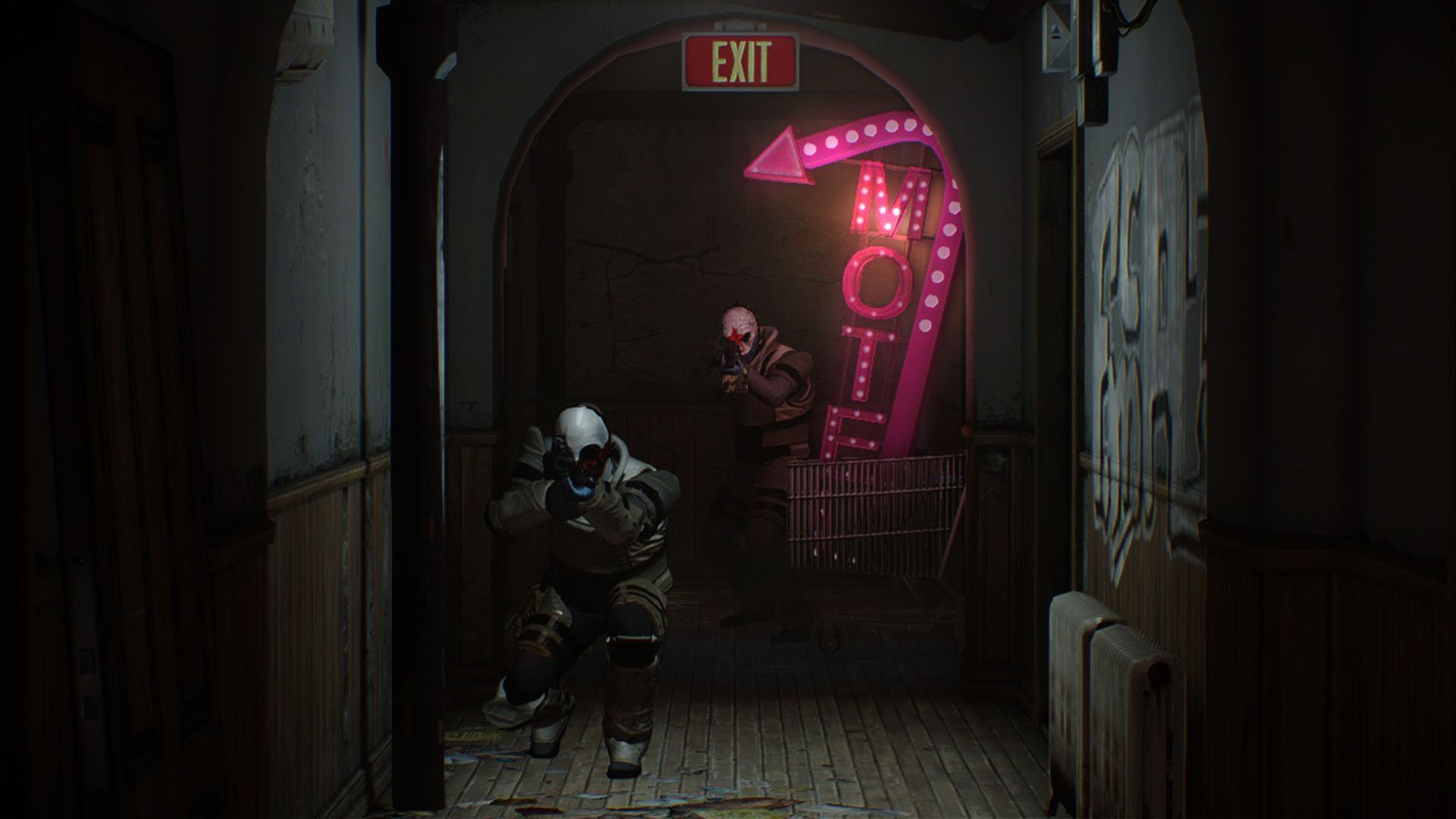 Payday  Cursed Room Mask Machine