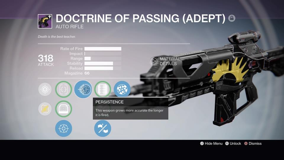Destiny doctrine of passing is the crucible s new essential weapon