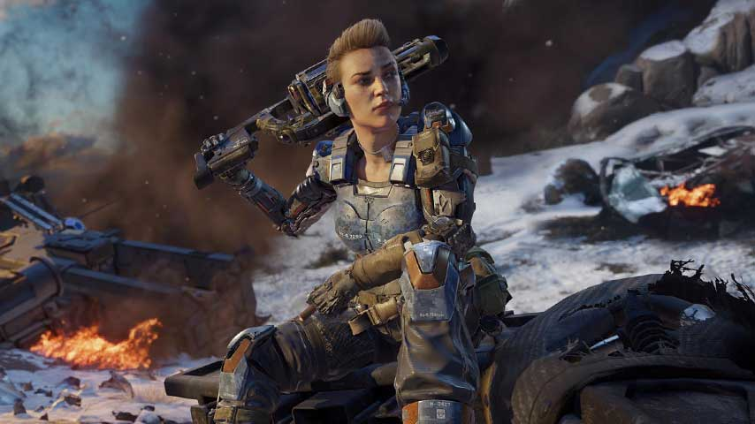 HG 40 SMG returns in Call of Duty: Black Ops 3 Black
