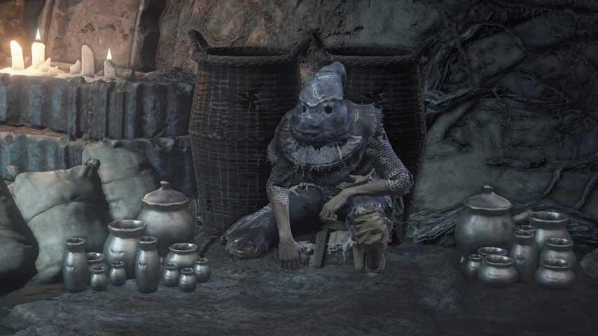 Dark Souls Guide Npcs Greirat Undead Settlement on 4 Way Switch