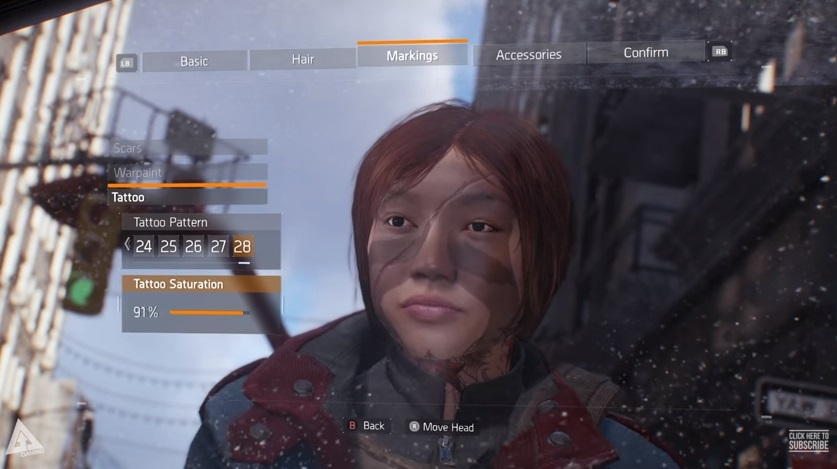 The Division Here S The Full Character Creation And