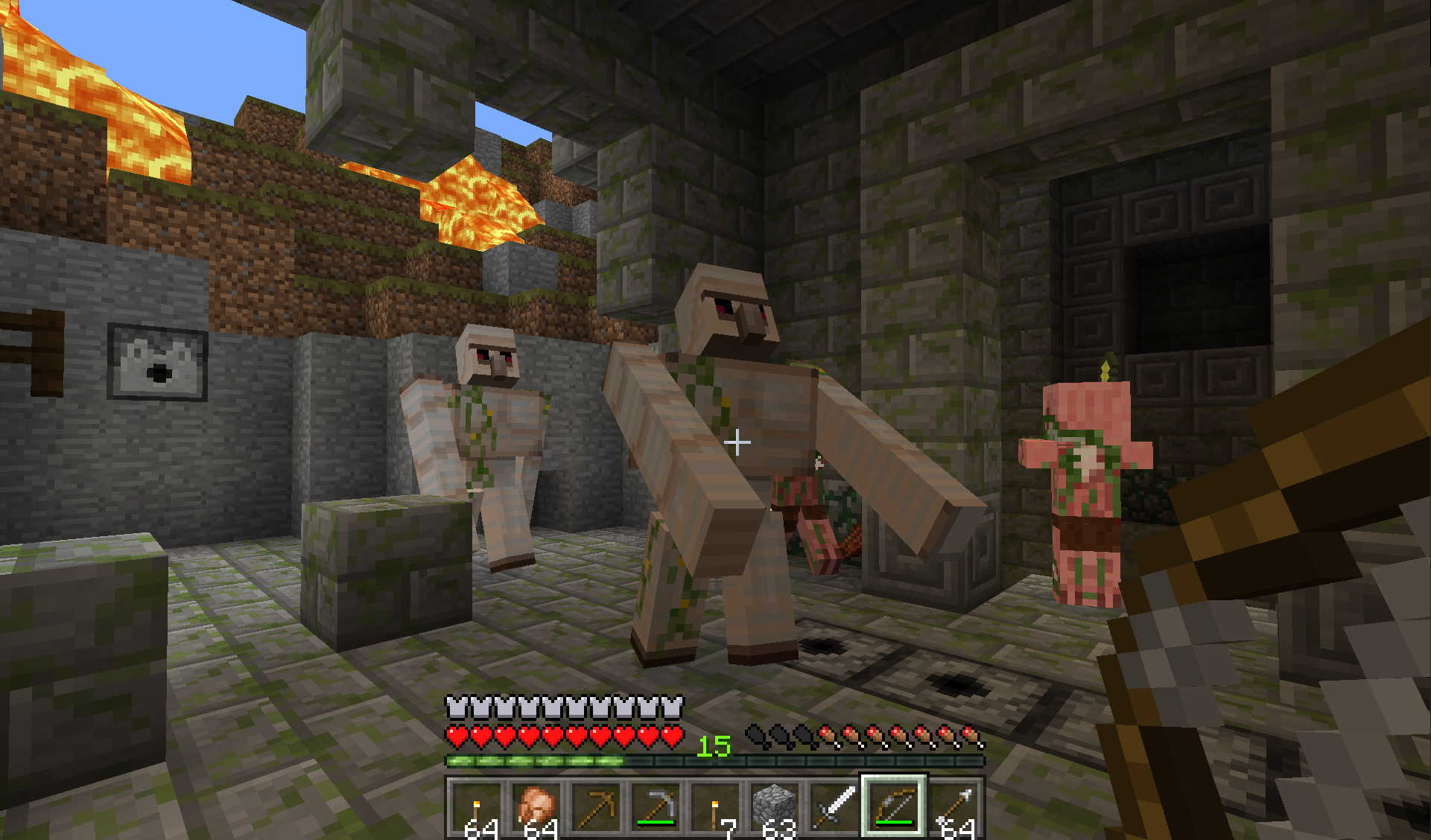 Minecraft Xbox  How To Craft A Block Of Iron
