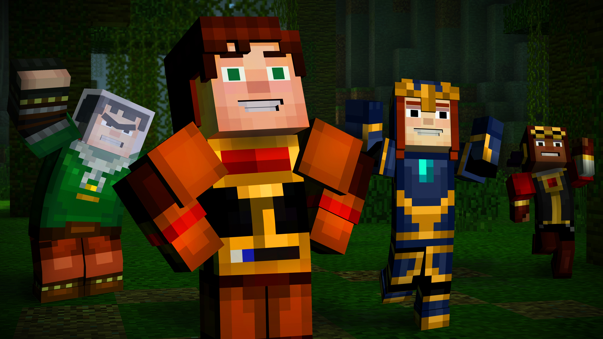 Minecraft Story Mode Episode 5 Out March 31 Three New
