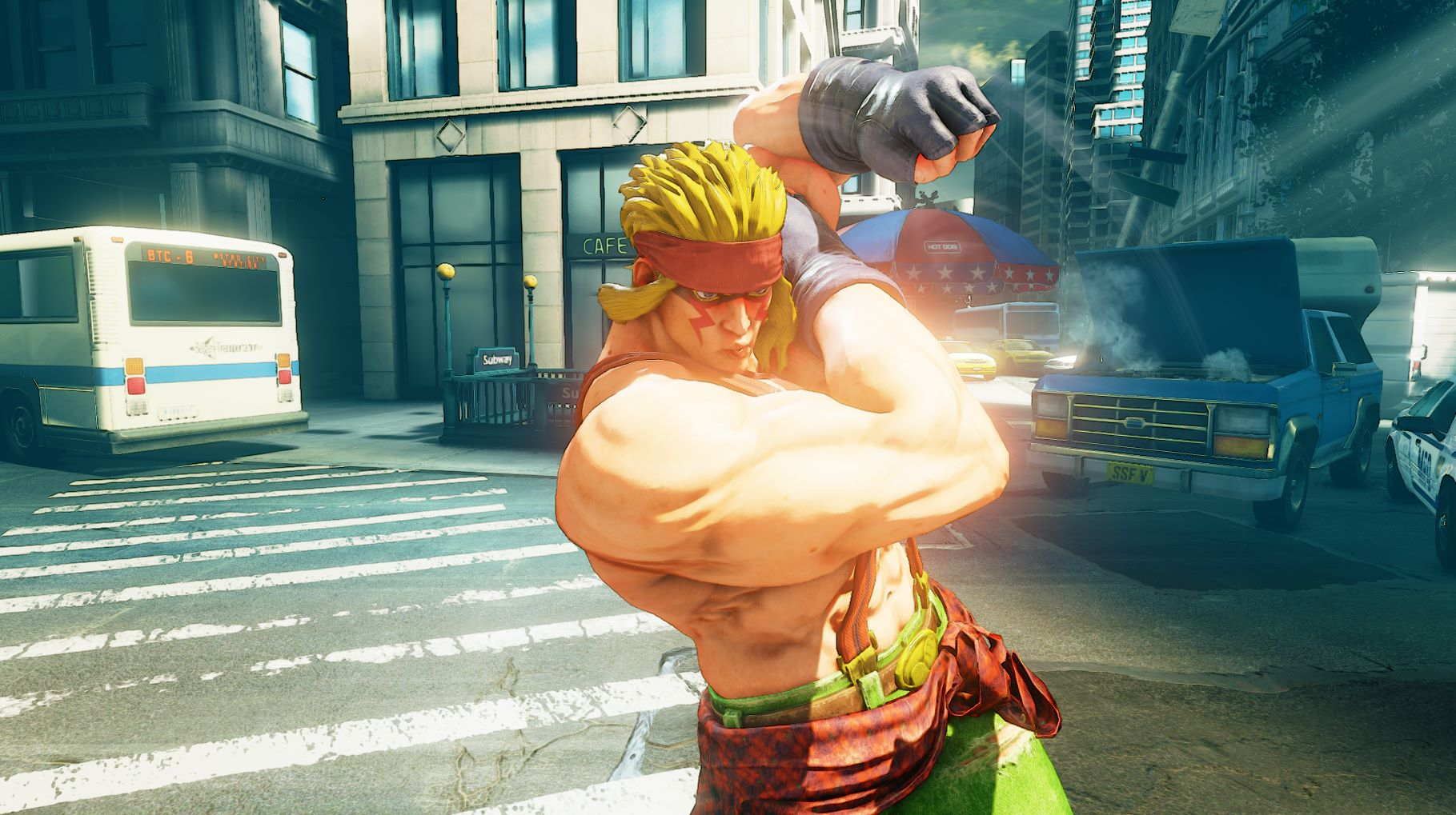 Street Fighter 5 S Alex And Changes Detailed Ahead Of