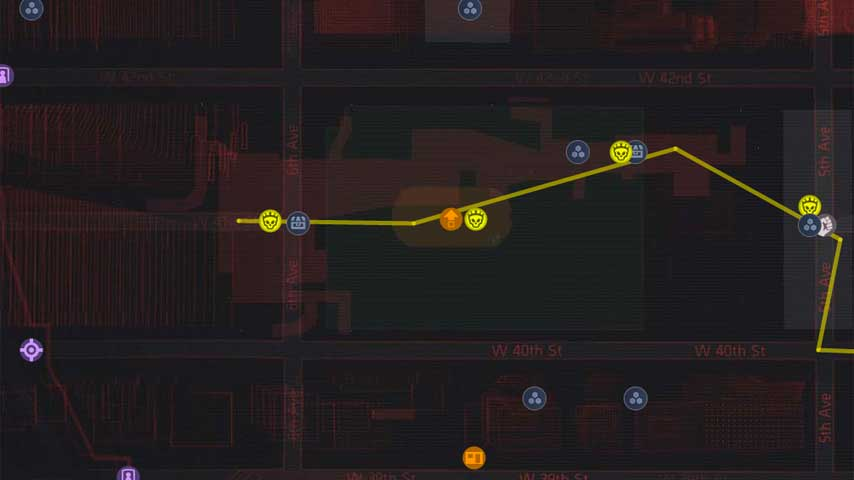 The division great dark zone map lets you share routes vg247 - Div checker tool ...