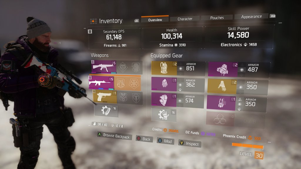 The Division This Is What Your Max Level Character Can