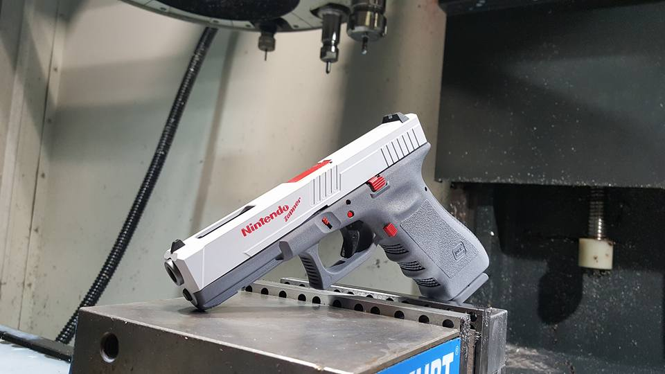 texas custom gun manufacturer creates a nintendo glock
