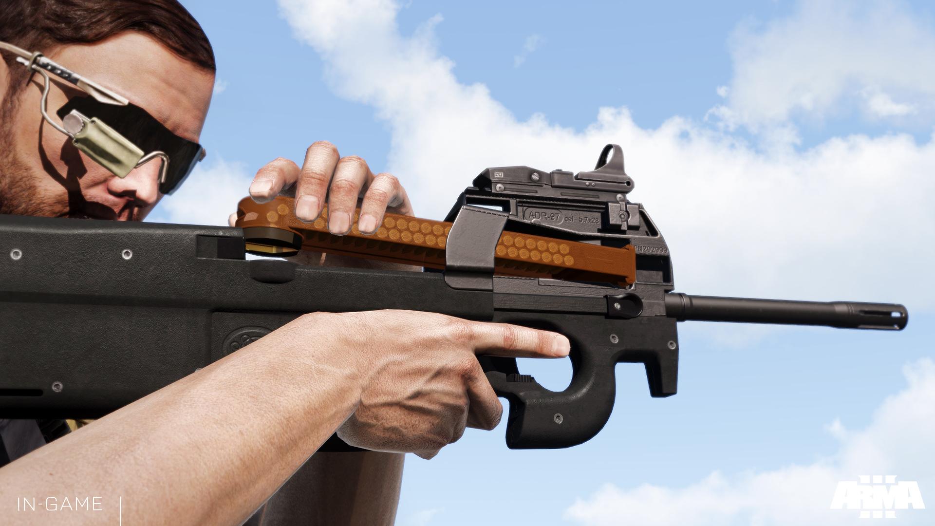 Arma 3 Weapon Slots