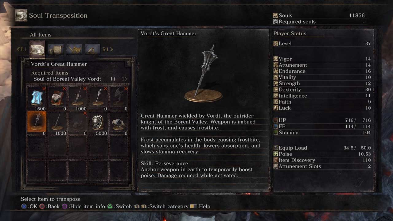 Dark Souls  Demon Fist Build