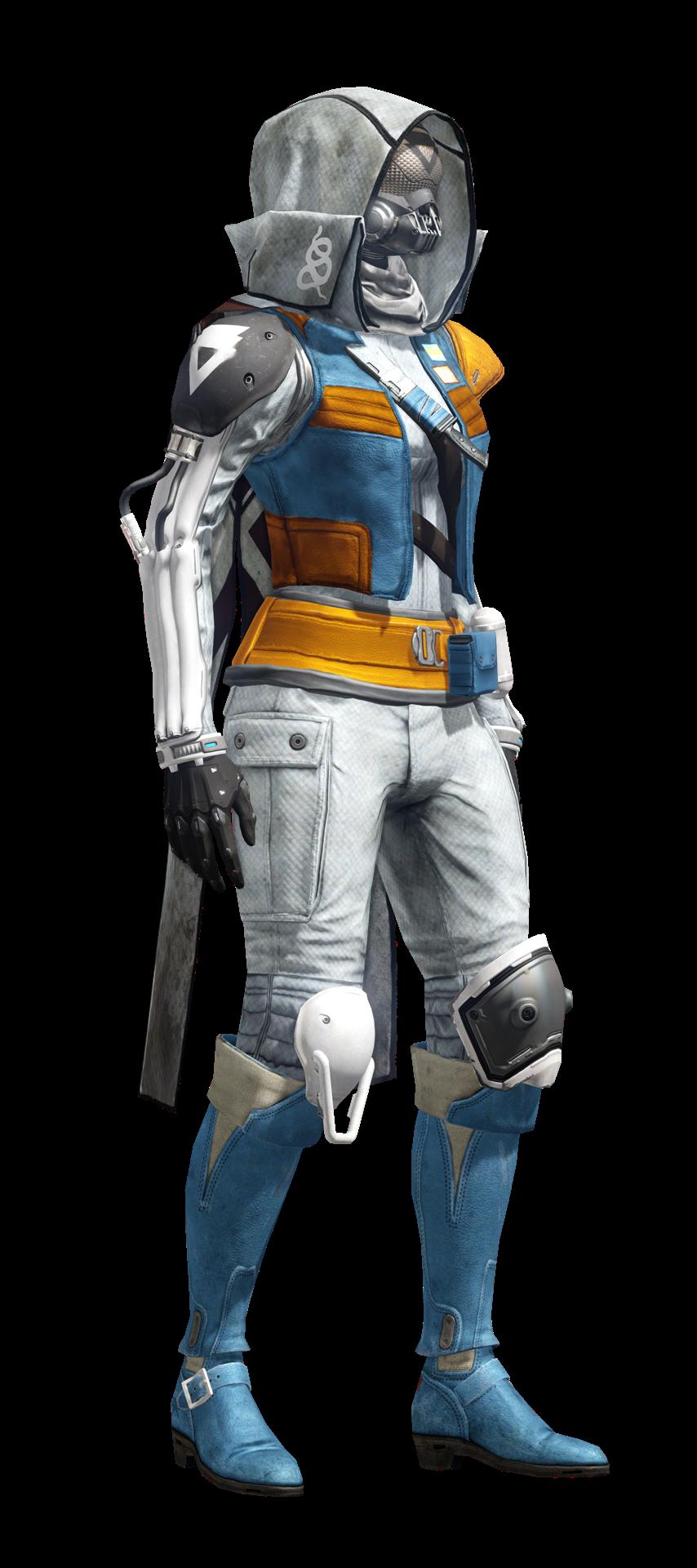 New hunter armor in destiny