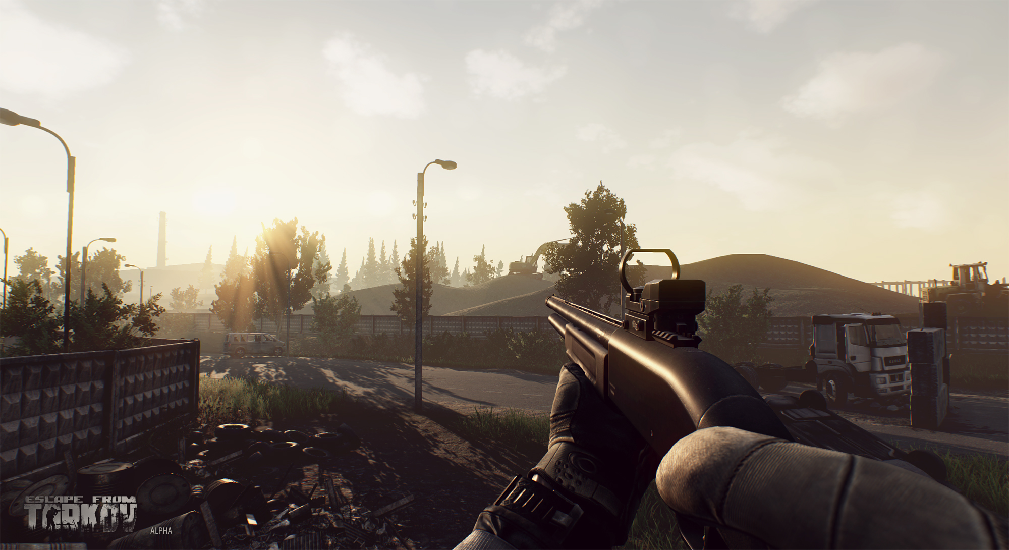 how to look through second scope tarkov