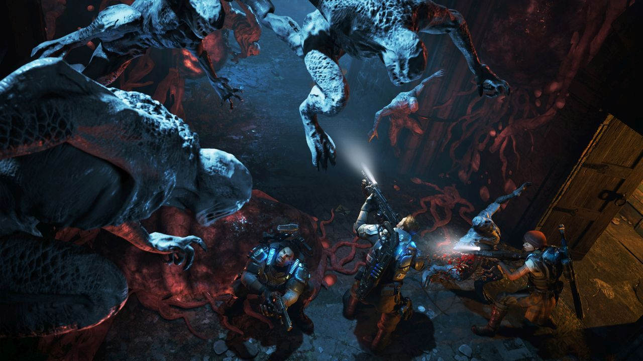 Gears Of War 4 2016 Video Game 4k Hd Desktop Wallpaper For: These Gears Of War 4 Hi-res Shots Of The Campaign Are