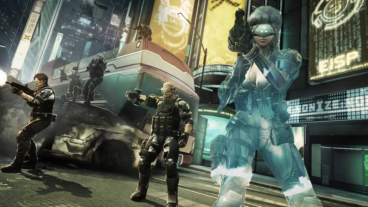 ghost in the shell  stand alone complex - first assault online free this weekend