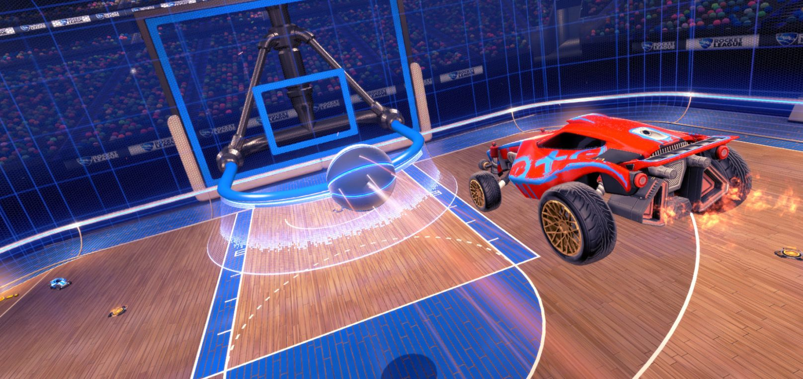 The Hoops DLC for Rocket League is out next week | VG247