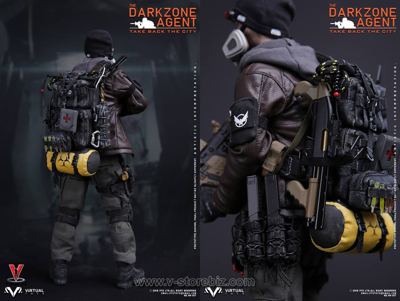 You can't have this amazing The Division figure yet