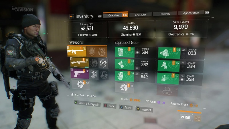 The Division Geheime Sets