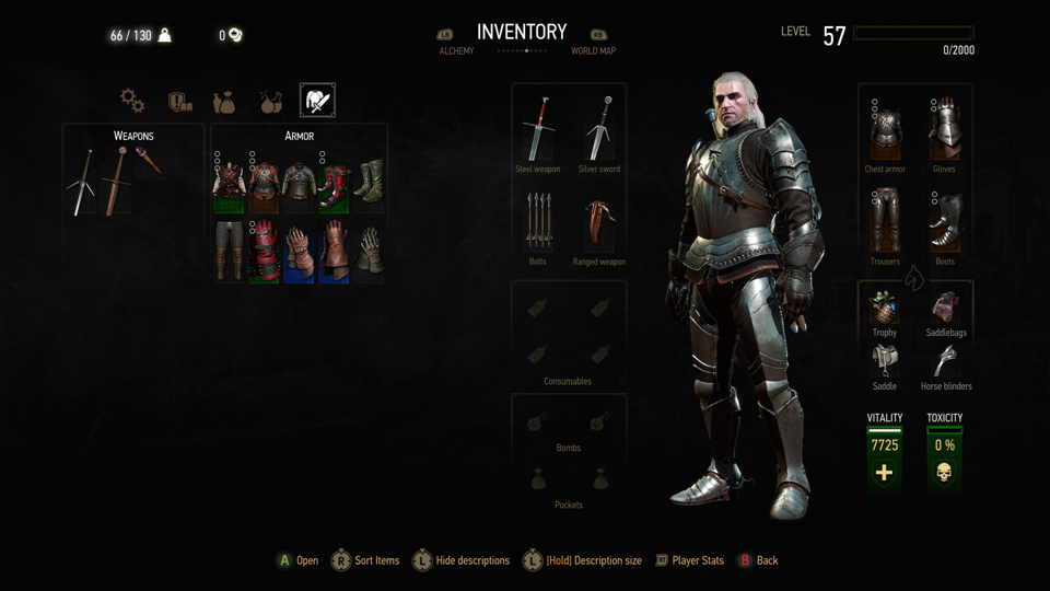 Craft Armour Witcher