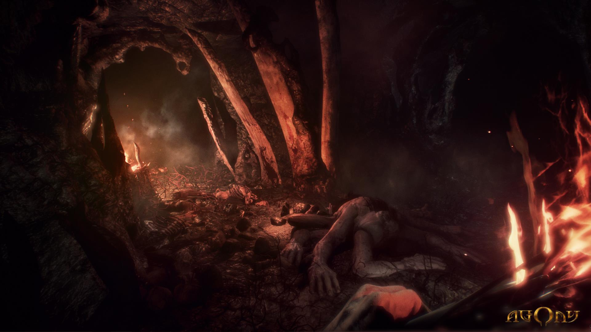 Agony is a first-person survival horror set in hell | VG247