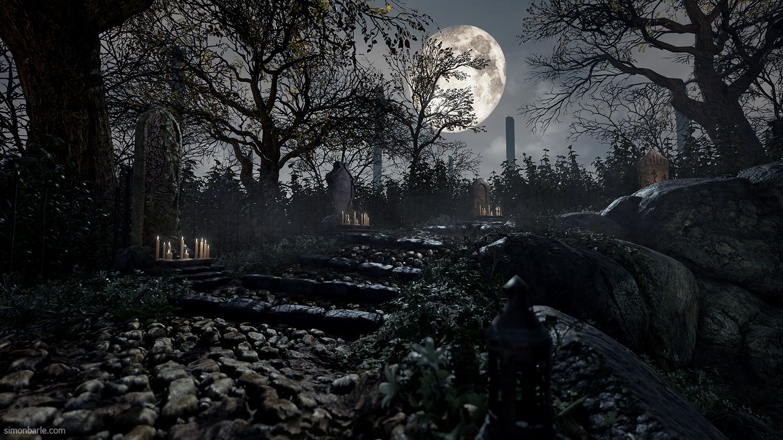 Bloodborne recreated in unreal engine 4 looks stunning vg247 for Unreal engine 4 architecture