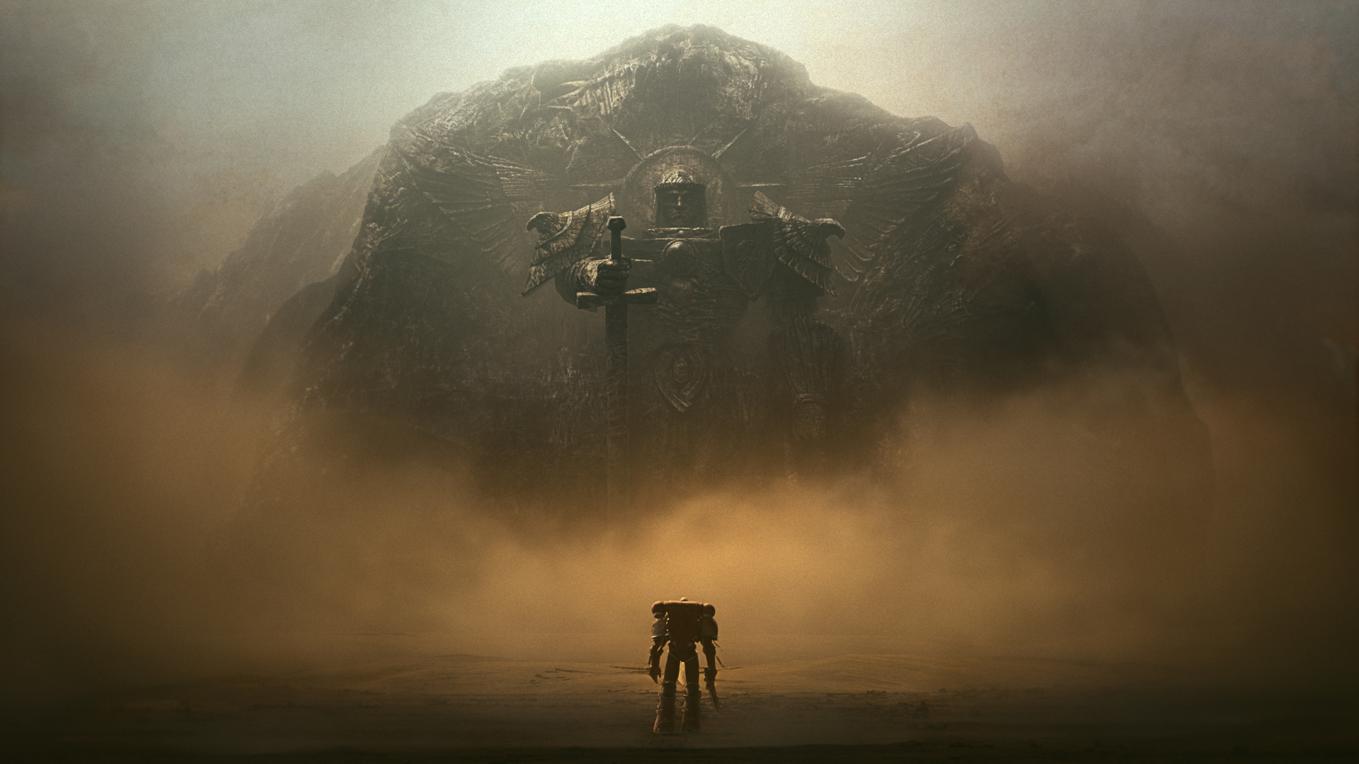 Sweet Dawn Of War 3 Cinematic Stills Are Just Begging To