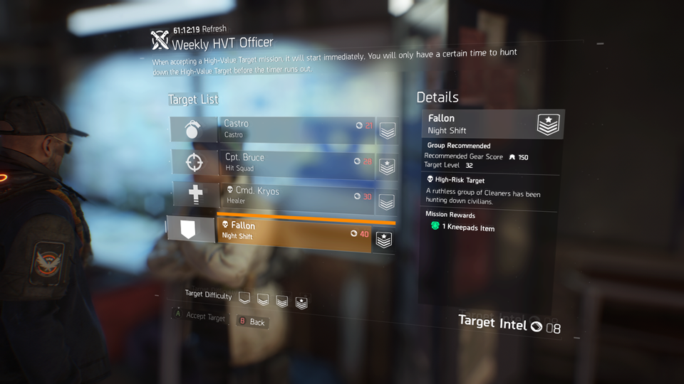 The Division: how High Value Targets work and why you