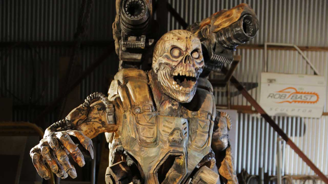 Doom Revenant Sculpted With A Chainsaw Vg247