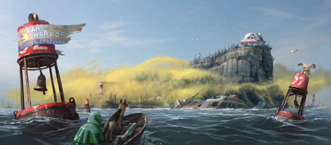 This New Fallout 4 Video Explores Tomorrow's Far Harbor