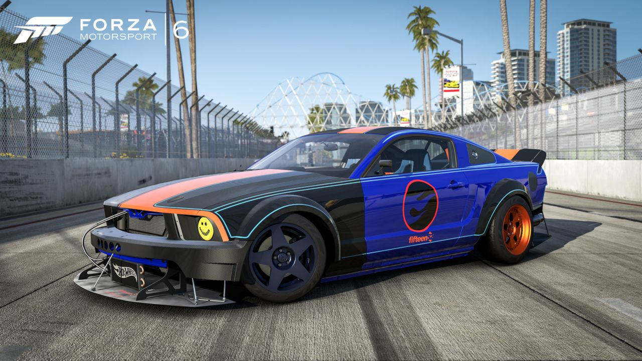 Forza 6 players can now download The Hot Wheels Car Pack ...