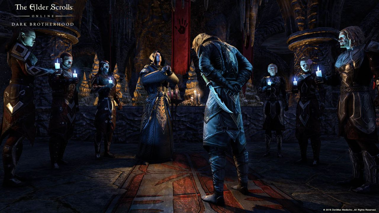 The Elder Scrolls Online Dark Brotherhood Content Pack Out