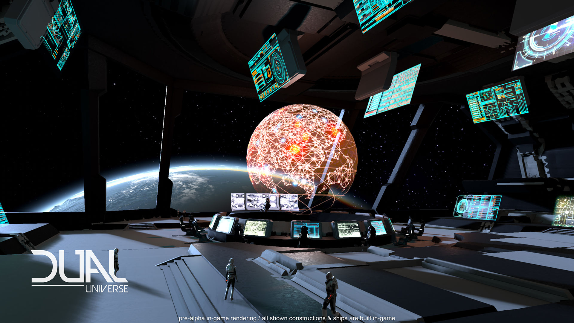 Dual Universe Combines Sci Fi Star Systems And Minecraft