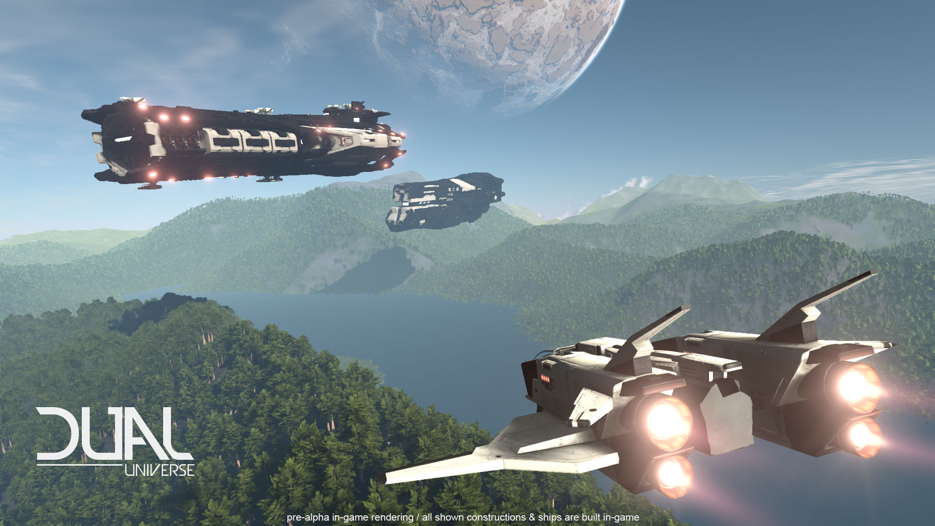 Dual Universe First Gameplay Footage Looks Impressive Vg247